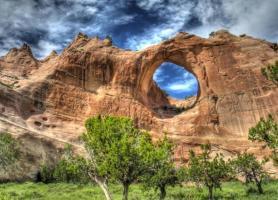پنجره سنگ یک شگفتی طبیعی