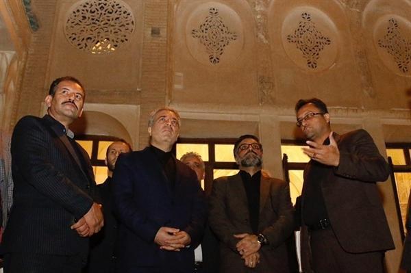 رئیس سازمان میراث فرهنگی به کاشان و نطنز سفر می نماید