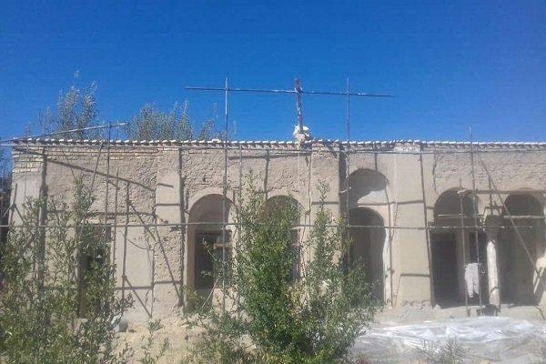 عملیات مرمت بنای نصرت الرعایا ارزوئیه شروع شد
