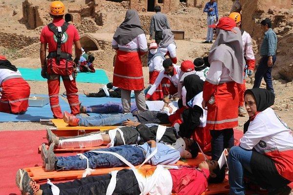مانور زلزله در خوابگاه های دانشگاه علوم پزشکی تهران برگزار می گردد
