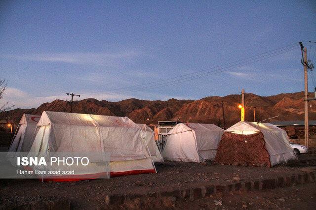 اسکان خانوارهای آسیب دیده زلزله بندر پهل
