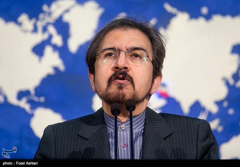 قاسمی: متن انتشاریافته از استعفای وزیر امور خارجه مورد تایید نیست