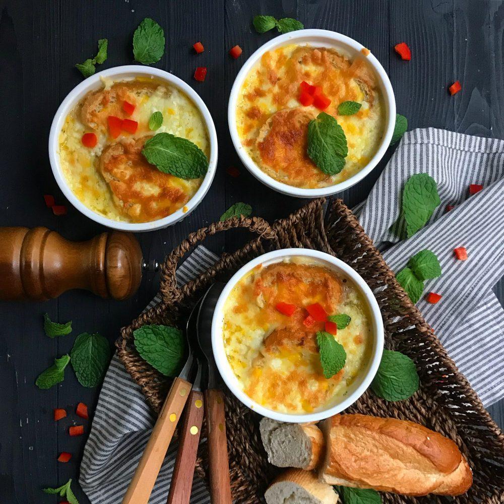 طرز تهیه سوپ پیاز فرانسوی سریع و آسان مرحله به مرحله