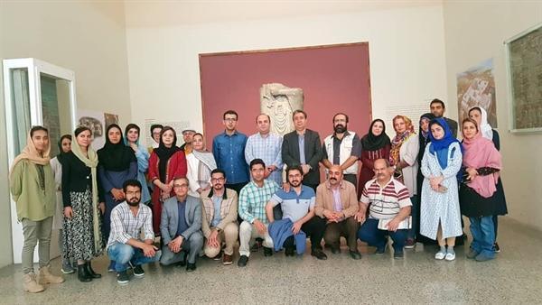برنامه تور آب و تمدن در موزه ملی ایران برگزار شد