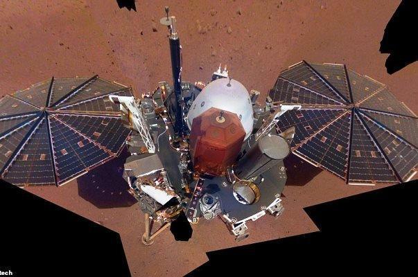 اینسایت واکنش میان گرد و غبار و باد را در مریخ رصد کرد