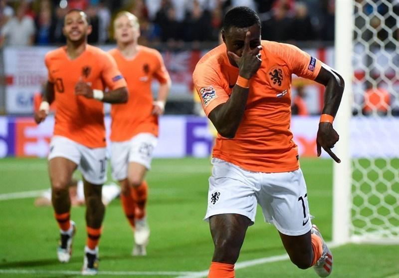 لیگ ملت های اروپا، هلند با شکست انگلیس رقیب پرتغال در بازی فینال شد
