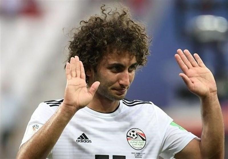 جام ملت های آفریقا، مهاجم تیم ملی مصر از اردوی کشورش اخراج شد