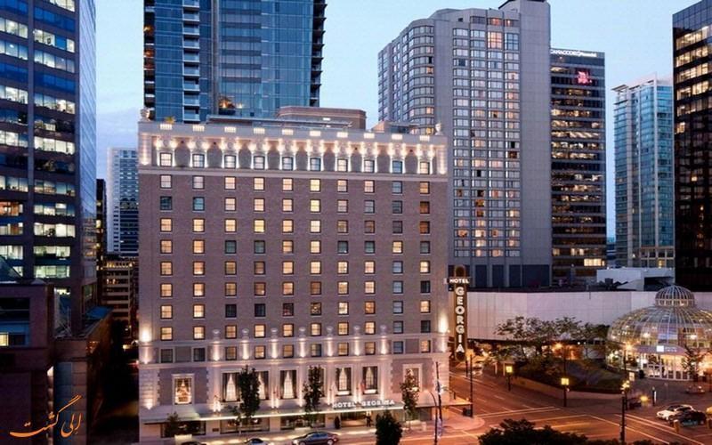 معرفی هتل روزوود گئورجیا ونکوور ، 5 ستاره