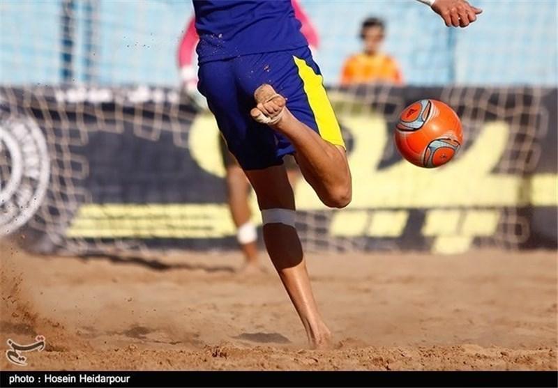 تیم ملی فوتبال ساحلی مقابل عمان بازنده شد