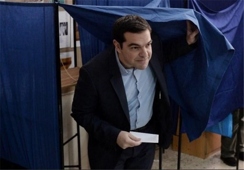 حزب ضدیوروی یونان پیروز انتخابات شد