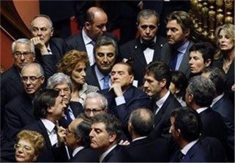 فحاشی برلوسکونی در مجلس سنای ایتالیا