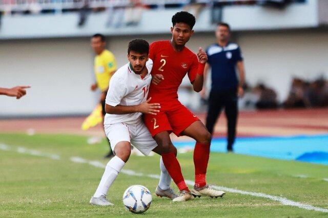 شکست تیم ملی جوانان مقابل اندونزی با اشتباه فاحش دروازه بان