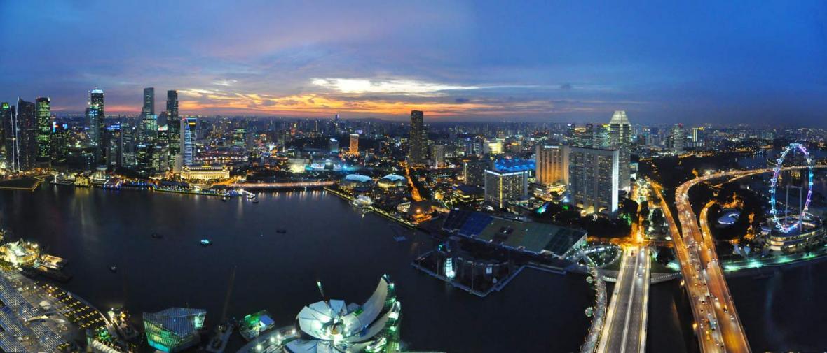 گردش 24 ساعته؛ سنگاپور