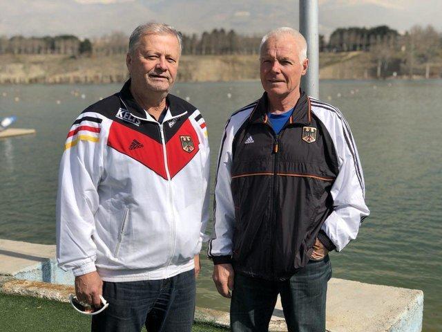 مربیان آلمانی قایقرانی وارد ایران شدند