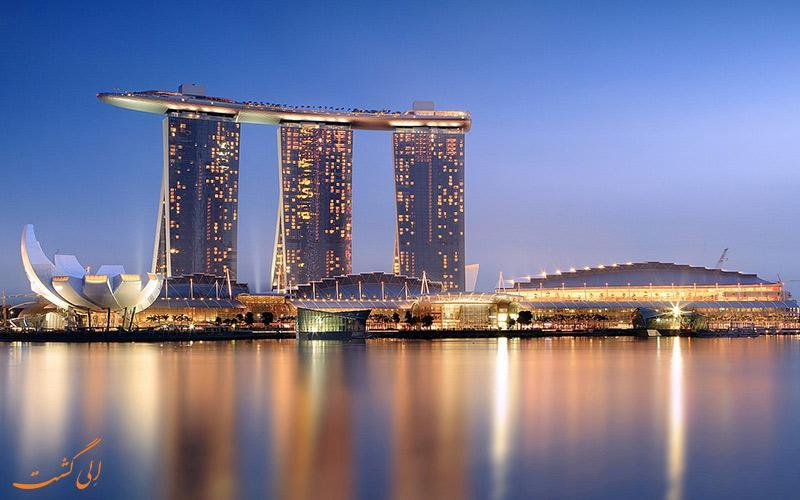 معرفی هتل مارینا بی سندز سنگاپور ، 5 ستاره