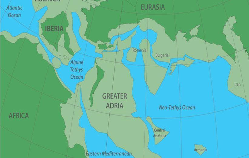 راز آدریای بزرگ تر: هشتمین قاره گمشده که 1500 کیلومتر زیر اروپا واقع شده است!