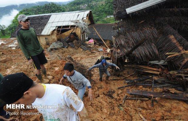 شمار قربانیان رانش زمین در جاوه اندونزی به 31 نفر رسید