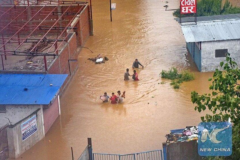 تخلیه بیش از 44 هزار نفر در پی بارندگی های شدید سریلانکا