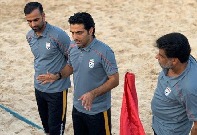 اظهارات ساحلی بازان پس از کسب مقام سومی رقابت های المپیک ساحلی قطر