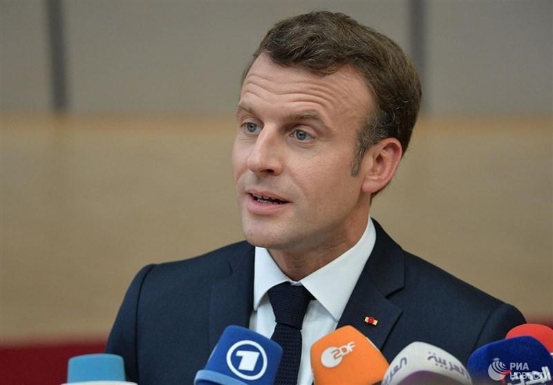 ماکرون از حضور مجدد روسیه در شورای اروپایی حمایت کرد