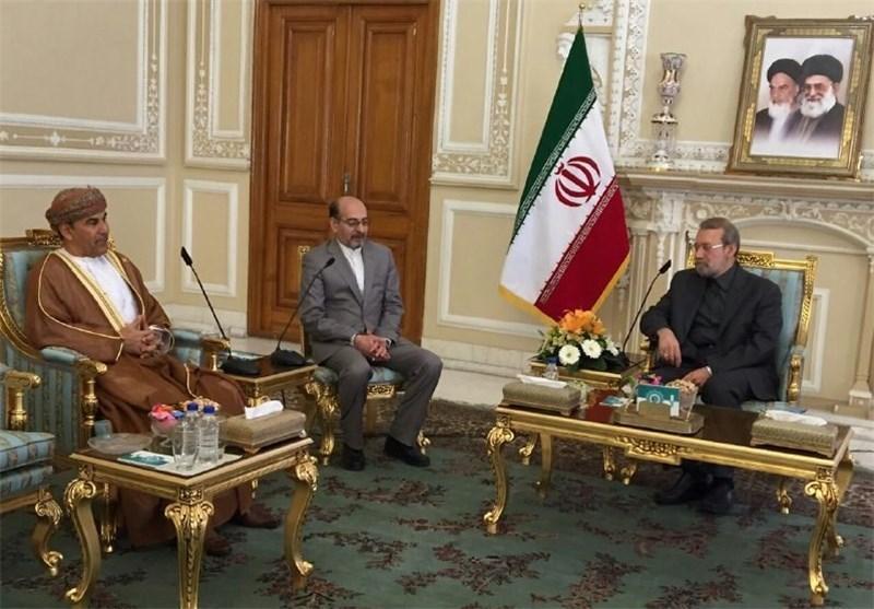 سفیر عمان در تهران با لاریجانی دیدار کرد