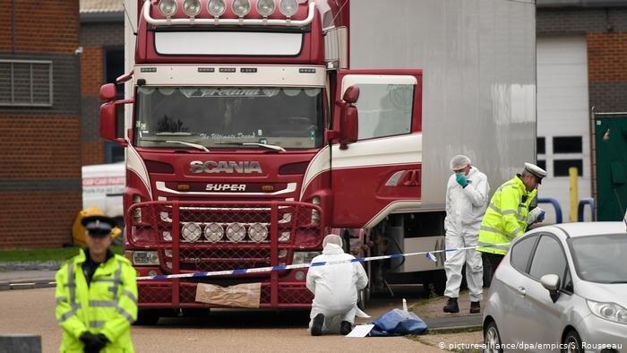 پلیس بریتانیا: همه 39 قربانی کامیون مرگ ویتنامی هستند