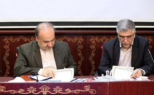 تفاهم نامه همکاری بین جهاد دانشگاهی و وزارت ورزش و جوانان منعقد شد