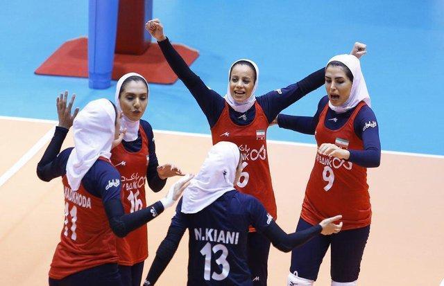 ششمی بانوان ایران در والیبال جام کنفدراسیون آسیا