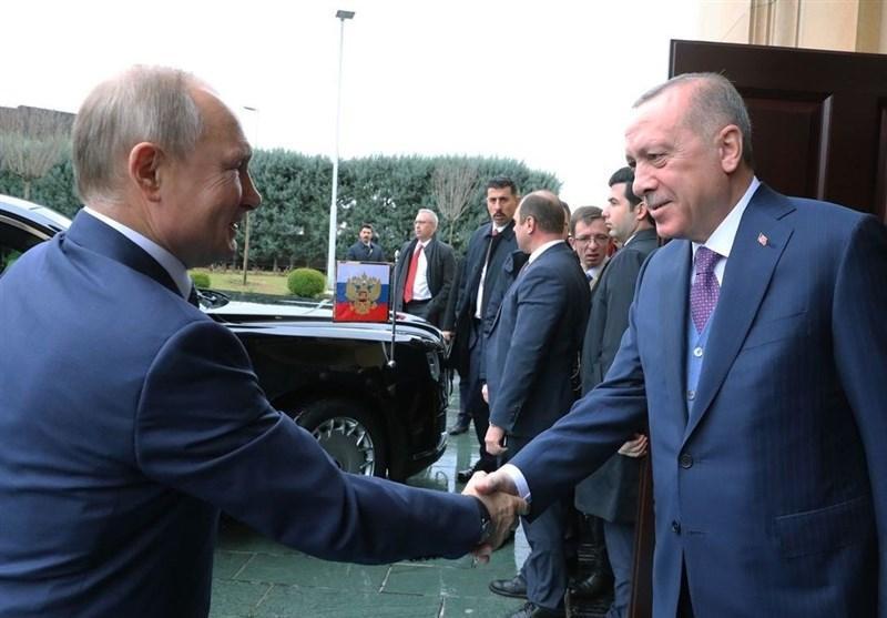 ملاقات رؤسای جمهور ترکیه و روسیه در استانبول