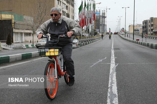 جای خالی دوچرخه در معابر شهری سمنان، لزوم توسعه فضاهای شهری سلامت محور
