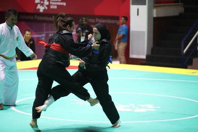 خاتمه کار 9 پنچاک سیلات کار ایران در بازی های آسیایی با تنها یک مدال، برنز کربلایی بدون برد!