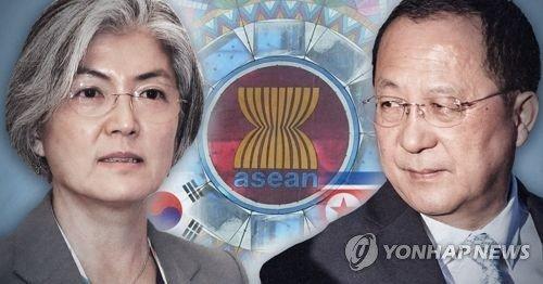 وزیر خارجه کره جنوبی به دنبال صلح در نشست منطقه ای آ.سه.آن