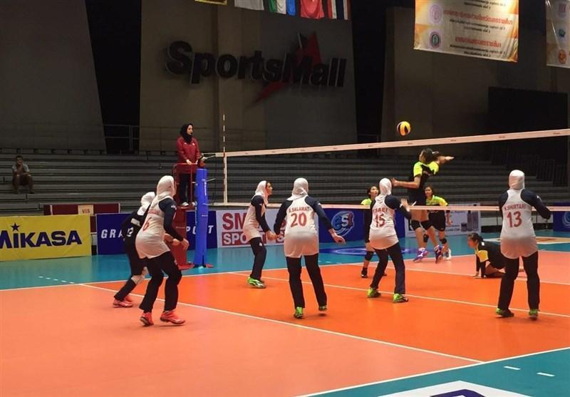 شکست دختران ایران در بازی محبت آمیز برابر میزبان