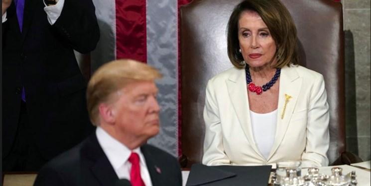 ترامپ دعوت پلوسی برای سخنرانی در کنگره را پذیرفت