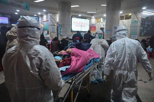 شروع به کار بیمارستانِ 1000 تختخوابی ووهان چین