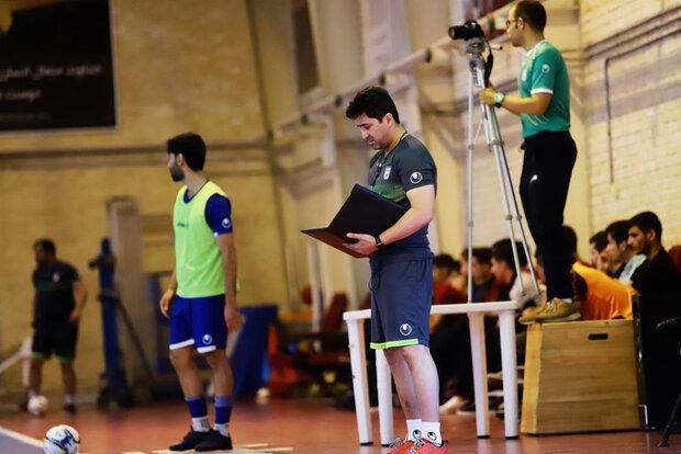 پیشنهاد سرمربی تیم ملی فوتسال در صورت تعویق جام ملت های آسیا