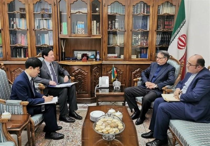 سفیر چین با معاون امور بین المللی و حقوقی وزیر امور خارجه ملاقات کرد