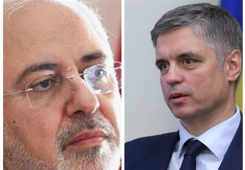 گفتگوی تلفنی وزرای خارجه ایران و اوکراین درباره حادثه سقوط هواپیما