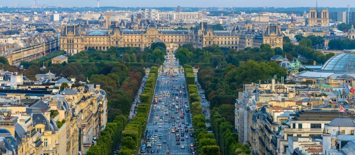 خیابان شانزه لیزه؛ پاریس