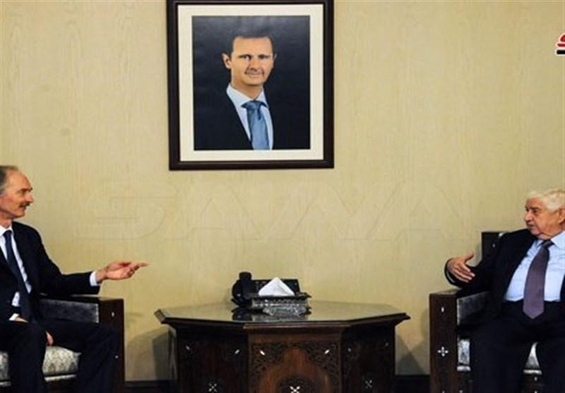 تاکید المعلم و پدرسون بر احترام به حاکمیت سوریه و مخالف با هرگونه دخالت خارجی