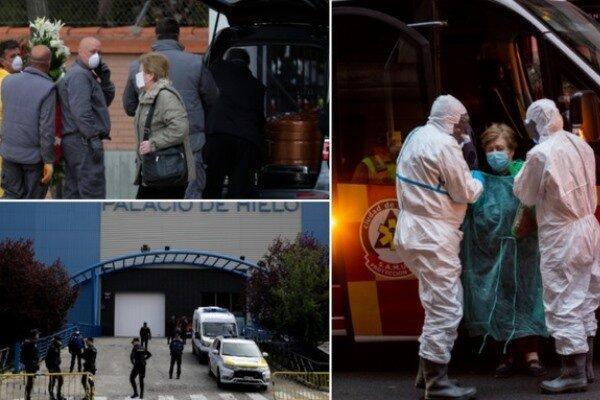 قربانیان کرونا در اسپانیا از شمار جانباختگان در چین پیشی گرفت