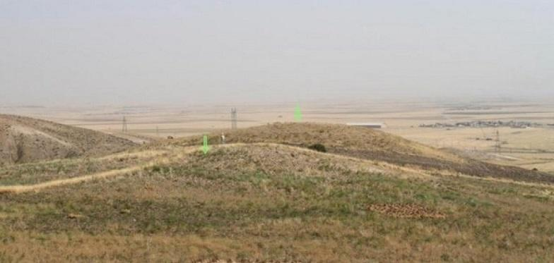 تپه اشکانی کرمانشاه محل جولان قاچاقچیان