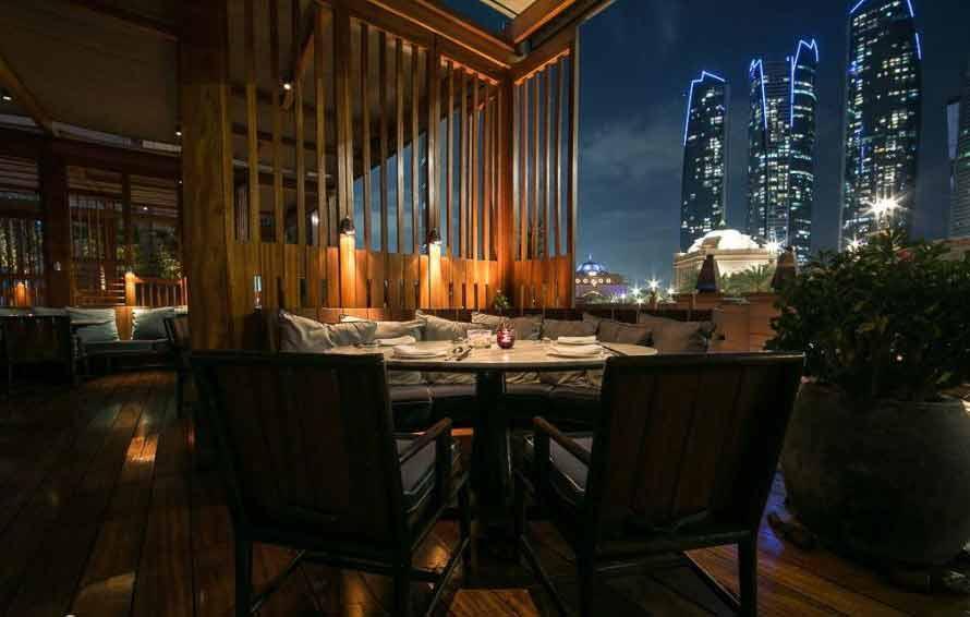 رستوران هاکاسان Hakkasan برترین رستوران های ابوظبی