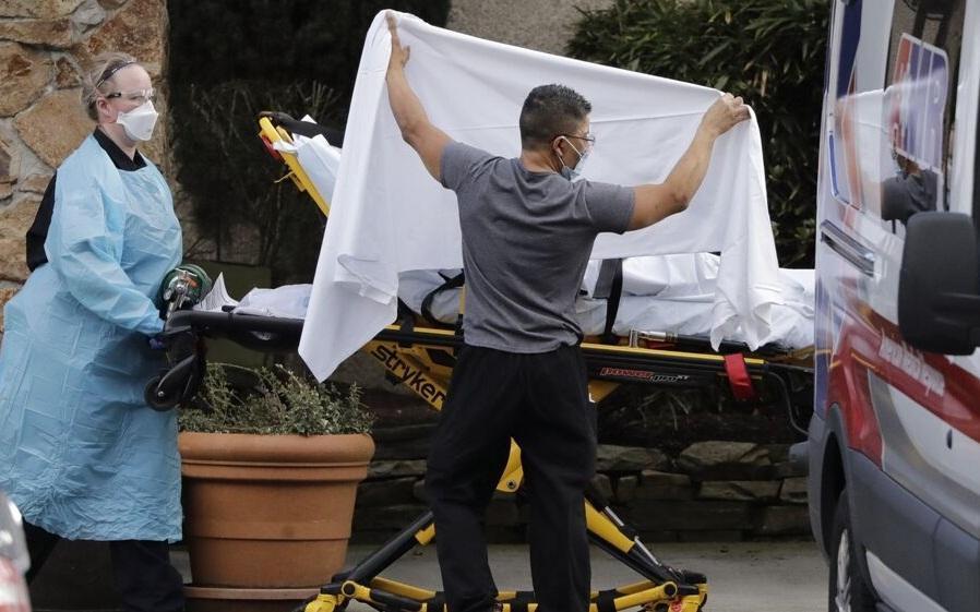 تلفات کرونا در آمریکا به مرز 54 هزار نفر رسید ، مرگ بیش از 2700 تن ظرف 24 ساعت