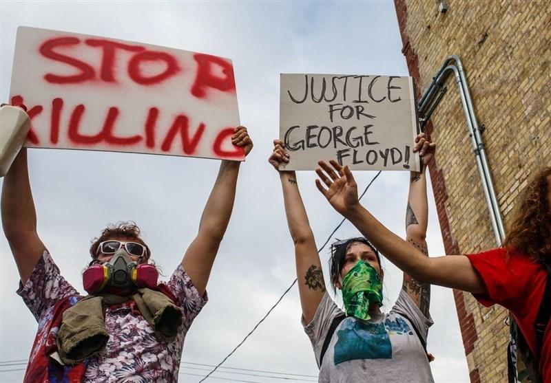 فیلم، سرکوب تظاهرات ضدنژادپرستی نیویورکی ها توسط پلیس آمریکا