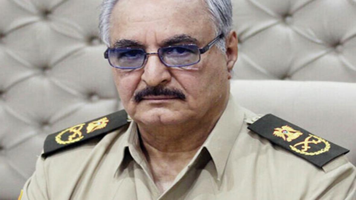 حفتر برای شروع مذاکرات لیبی پیش شرط مشخص کرد