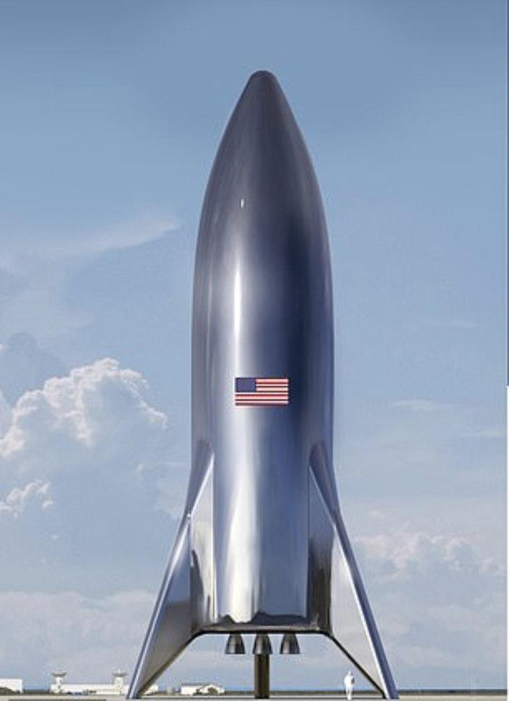 فضاپیمای استارشیپ، اولویت اصلی اسپیس اکس