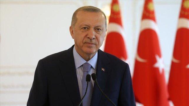 اردوغان: به حمایت از مظلومان در عرصه بین المللی ادامه می دهیم