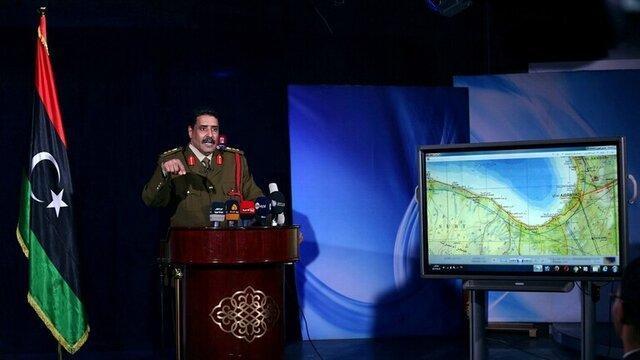 نیروهای حفتر: اردوغان دنبال کنترل بر منطقه هلال نفتی لیبی است