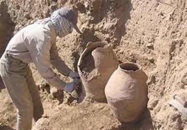 جلوگیری از حفاری غیرمجاز در منطقه دلفارد جیرفت